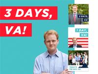 Chris Hurst Get Out the Vote Digital Campaign