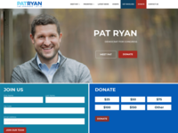 Pat Ryan Website Design