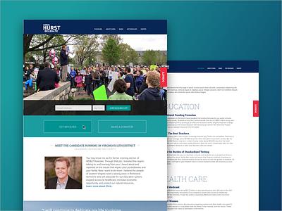 Chris Hurst Campaign Site