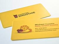 Hampton Smoothie Business Cards