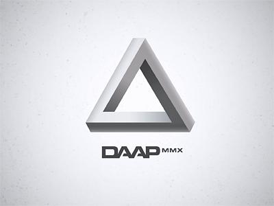 DAAP MMX Logo illustrator vector logo typestyle