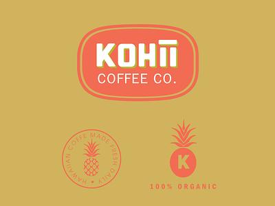 Kohii Coffee Concept #1 coffee shop branding logo coffee