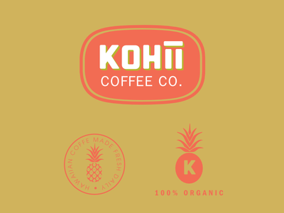 Kohii Coffee Concept #1