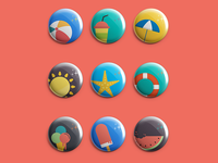 Summer Pins