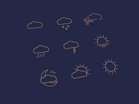 Weather Ui Icons
