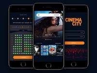 Cinema app redesign concept