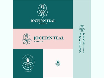 Unused Logo Concept for Jocelyn Teal Massage