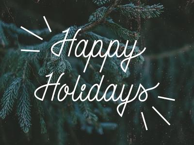 🎄 Happy Holidays 🎄