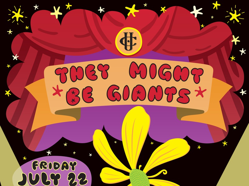 They Might Be Giants music they might be giants tmbg rock and roll vector rock poster poster design poster art poster illustration concert poster