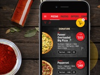Pizza Hut Mobile design