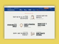 Edelweiss Website design
