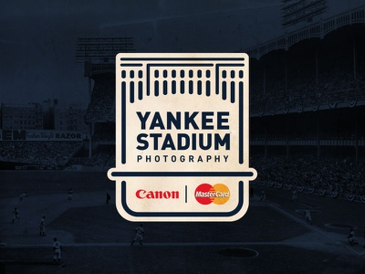 Yankee Stadium Photography logo sports logo baseball new york yankees