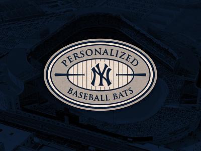 Yankee Stadium bats logo sports logo baseball new york yankees