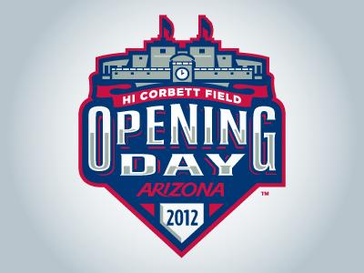 Opening Day 2 baseball sports logos arizona college