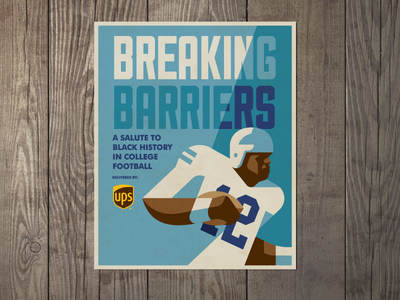 Breaking Barriers college football black history month