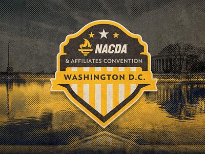 NACDA 2018 logo design washington dc nacda