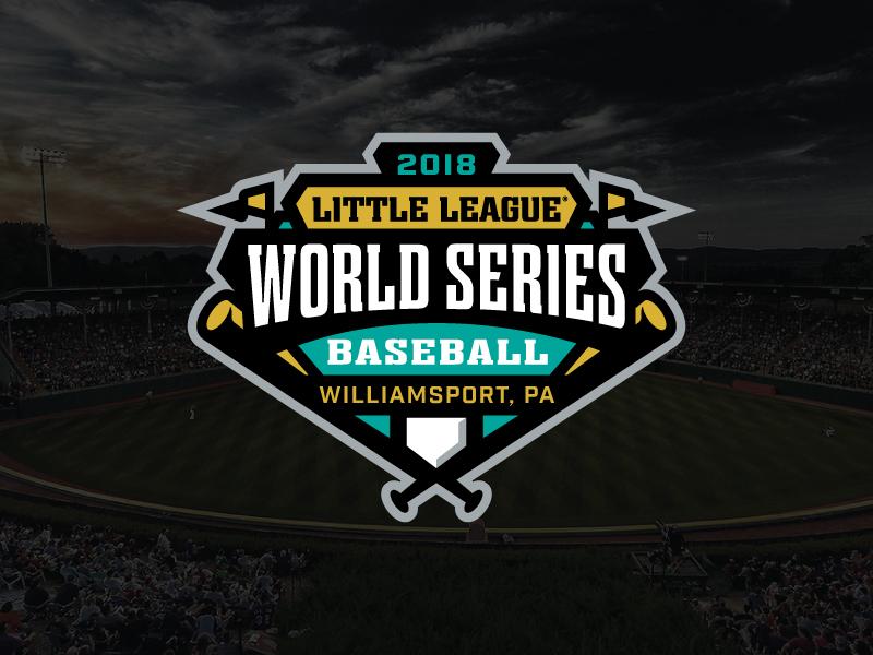 2018 Little League World Series world series sports logo baseball little league
