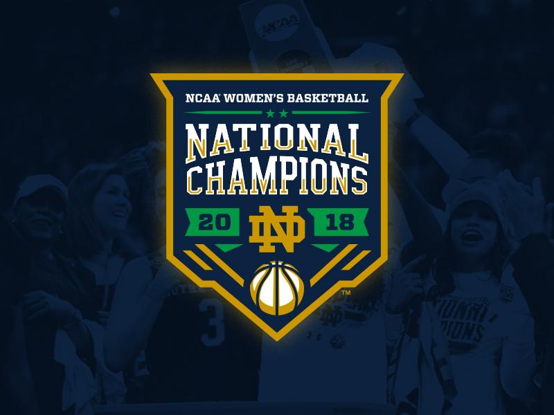 Notre Dame gold ncaa womens basketball sports logo college basketball notre dame