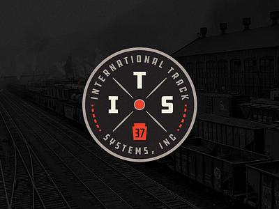 International Track Systems logo track pennsylvania badge train