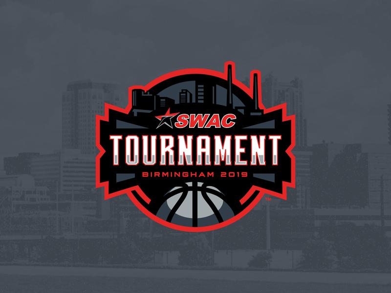 2019 SWAC Tournament event identity vector college sports identity college basketball sports basketball college logo sports logo