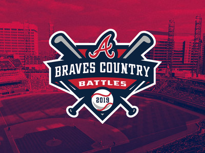 Braves Country Battles By Harley Creative On Dribbble