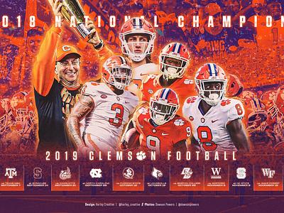 2019 Clemson Football Wallpaper clemson college football sports football college