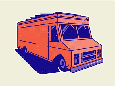 Food Truck illustration vector vehicle food trucks food truck