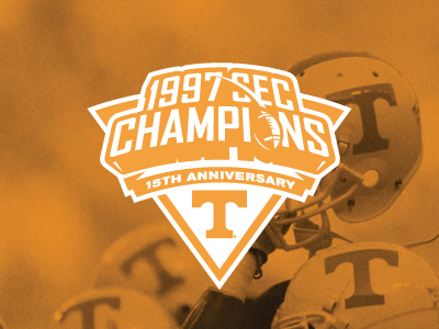 1997 SEC Champions tennessee volunteers sec logo sports football