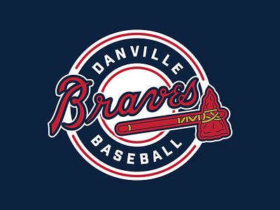 Danville Braves virginia tomahawk danville braves minor league baseball baseball