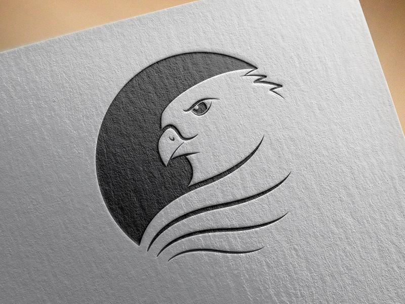 Air force Eagle Logo. illustrator bird bird logo drawing icon photoshop logo branding typography vector illustration design