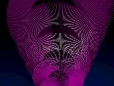 Arc Blossom Sculpture cinema 4d c4d 3d computational art lines python drawbot