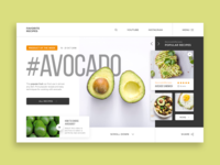 'Favorite Recipes' Web-site concept