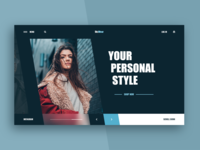 Fashion Store Web-site concept