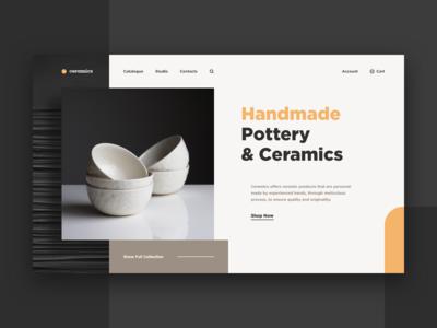 Pottery & Ceramics Web-site
