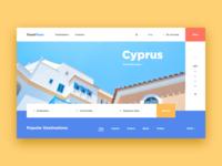 Travel Tours Web-site concept
