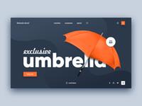 Umbrella Store Website Concept