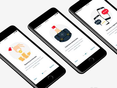 Onboarding App Design tutorial design app visual design ui design app design onboarding