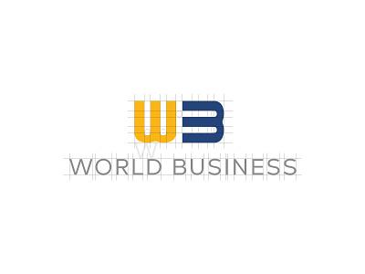 Logo World Business logo brand brand branding diseño gráfico graphic design logo construction logo design reticula logotipo logotype logos visual identity