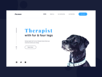 Dog therapy website