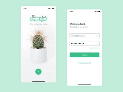 Sign In - Cactus purchasing app