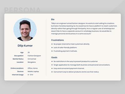 Persona ux case study redesign app design ux design ux ui ued whatsapp whatsapp redesign ux persona