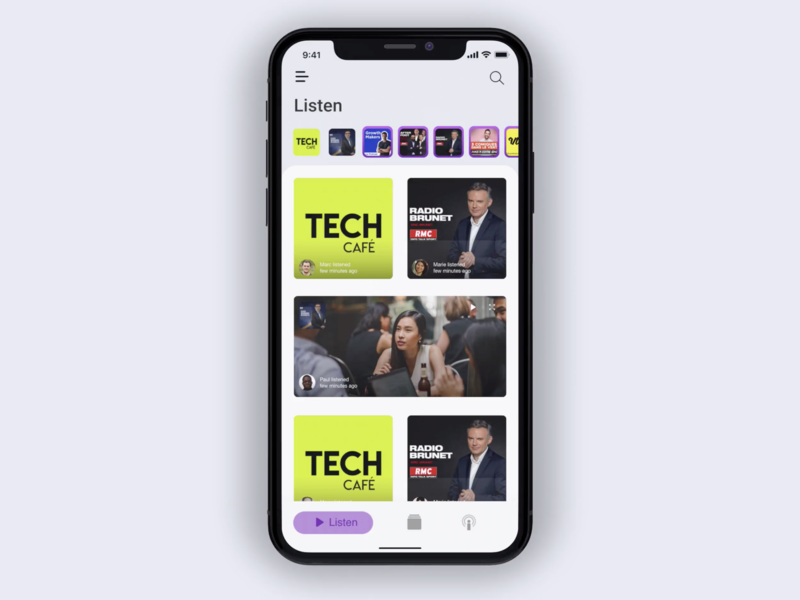 Apple Podcast App Redesign Concept