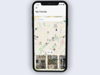 Apple Find My Friends App Redesign Concept
