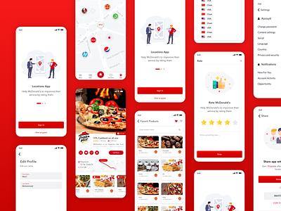 Mesbah App ui sketchapp design ios app app
