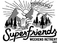 Superfriends Shirt Design