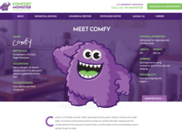 Meet Comfy - Character Page