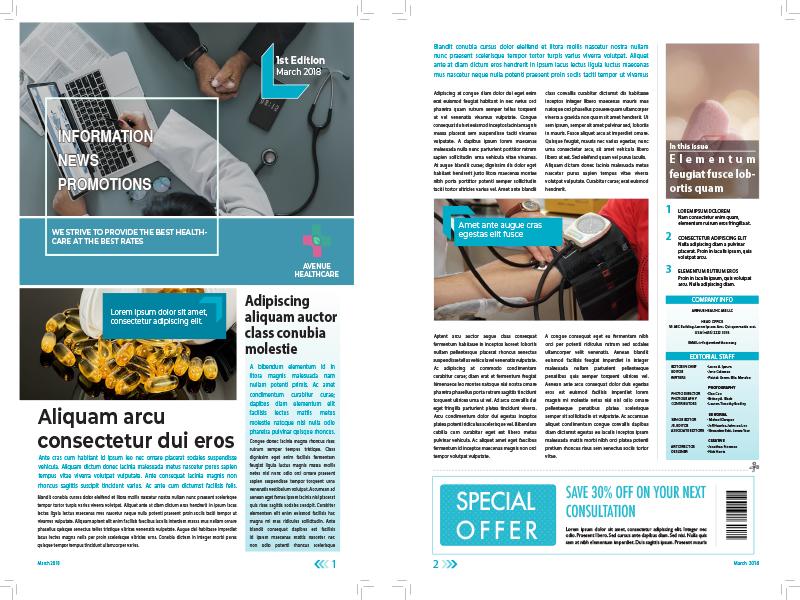 Newsletter design graphic design design adobe indesign newsletter