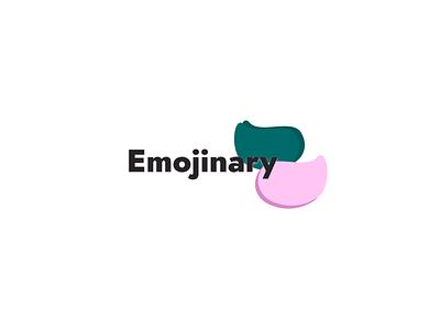 Emojinary Logo icon typography ux ui vector logo digital design color branding