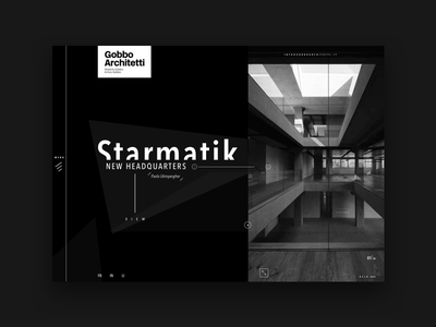Gobbo Concept theme studio site portfolio interior firm shapes architecture architect