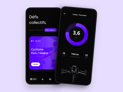 Bicycle App 🚴♀️ appdesign 3d iphone branding ios ux button interface app ui